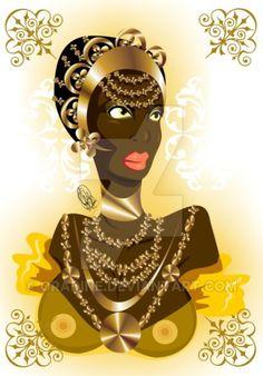 Joia de Oxum by Oradine on DeviantArt
