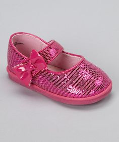 Another great find on #zulily! Fuchsia Glitter Mary Jane by Angel #zulilyfinds
