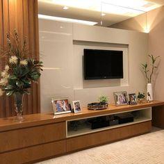 Tv Unit Decor, Tv Wall Decor, Wall Stickers Home Decor, Unique House Design, Home Design Decor, Dream Home Design, Small Living Room Layout, Living Room Tv Unit Designs, Tv Unit Interior Design