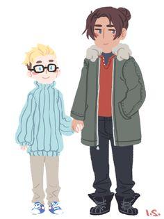 BUCKY NO • inediblesushi: bucky loves his tiny boyfriend(...