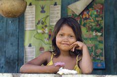 Yagua Girl in the Amazon by Jorge Enrique Sanchez on 500px