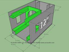 Skema box Planar 12 inch Rumahan Joss | ARA AUDIO 12 Inch Subwoofer Box, Subwoofer Box Design, Speaker Box Design, 12 Inch Speaker Box, Sub Box Design, Audio Box, Speaker Plans, Audio Amplifier, Speakers