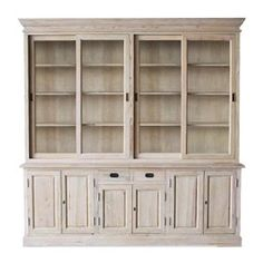 FRENCH COUNTRY COTTAGE: Painted Library Cupboard
