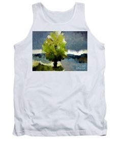 Tank Top - Abstract Landscape 1522