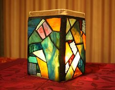 """Check out new work on my @Behance portfolio: """"Stained Glass Mosaic Jar Candleholder"""" http://be.net/gallery/50227707/Stained-Glass-Mosaic-Jar-Candleholder"""