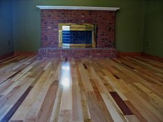 My Awesome Multi Colored Hardwood Floor Loving How It