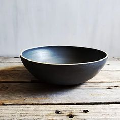Black and tan pasta bowl | RESEED CERAMICS Ceramic Art, Serving Bowls, Pasta, Collections, Ceramics, Tableware, Black, Hall Pottery, Pottery