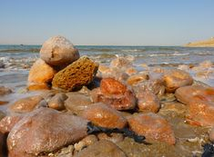 The Dead Sea is said to be the lowest point on Earth. The saline waters are famously unconducive for marine life, but the salts allow for extreme buoyancy when swimming. The minerals found in the water are also deemed beneficial for general well-being.