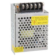 WSFS Caliente 60 W Interruptor Controlador de fuente de Alimentación de Conmutación para la Tira del LED de Luz DC 12 V 5A