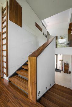 Családi ház - XII. kerület • Gortva Építész Stúdió Budapest, Stairs, Home Decor, Stairway, Decoration Home, Room Decor, Staircases, Home Interior Design, Ladders