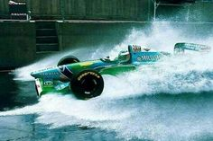 Schumacher piloted his Benetton Ford to victory in the race after starting Damon Hill finished second for the Williams team and Ferrari driver Jean Alesi came in third. Keep fighting, Michael! Michael Schumacher, Mick Schumacher, Le Mans, F1 Motorsport, Brazilian Grand Prix, Up Auto, Alain Prost, Formula 1 Car, F1 Racing