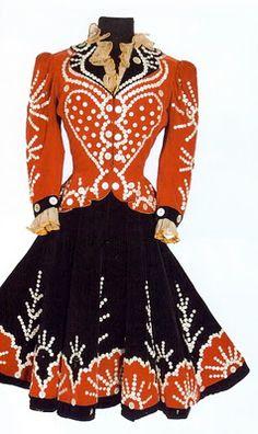 Costume worn by Rita Hayworth in Cover Girl, 1944