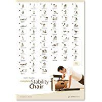 STOTT PILATES Wall Chart - Complete Stability Chair