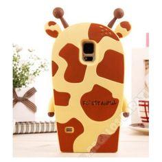 Carcasa diseño jirafa muñeco 3D para Galaxy S5