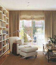 Trucos e imágenes para crear el rincón de lectura perfecto en casa. Un post que es pura inspiración.