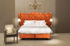 #boxspring #bed #design #interiordesign #decoration #bedding #bedroom #bedroomdecor Bed Design, Beds, Bedding, Bedroom Decor, Interior Design, Decoration, Furniture, Home Decor, Nest Design