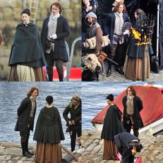 Love these set pics from #Outlander #Season2!