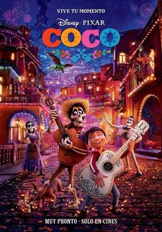 COCO MOVIE: It is a 2017 American computer-animated musical fantasy film produced by Pixar Animation Studios and released by Walt Disney Disney Movie Posters, Disney Movies To Watch, Film 2017, Disney Pixar Coco, Disney And Dreamworks, Walt Disney, Disney 2017, Sad Movies, Pixar Movies