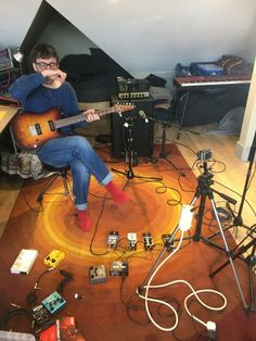 Graham in his studio.