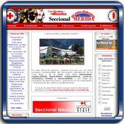 Organización:   Cruz Roja Mérida;   Ubicación:   Mérida;   Enlace:   http://www.cruzrojamerida.org.ve;   Segmento:  Salud y Bienestar Social;   Año:   2004