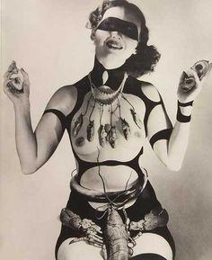 Horst P. Horst Costume for Salvador Dali's Dream of Venus (Lobster #1), 1939