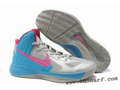 sneakers for cheap d451a c70cd Nike Zoom Hyperfuse 2012 Jeremy Lin Shoes Gray Blue Pink Discoun