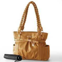 Rosetti handbags at Kohl\u0027s - This Rosetti tote features braided straps and  belted accents. Shop our full line of Rosetti handbags at Kohl\u0027s.