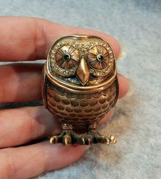 Limited Edition Edgar Berebi Owl Trinket Box