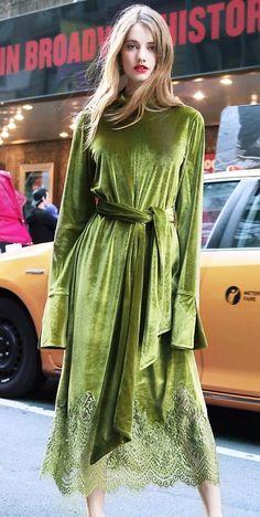 Модний оксамит: що пошити із благородної тканини | Ідеї декору