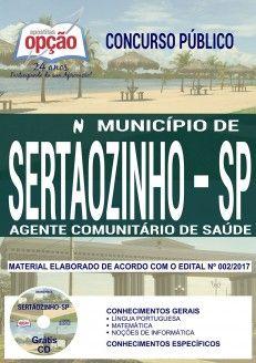 Apostila Concurso Municipio De Sertaozinho 2018 Agente