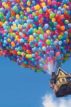 Bright colors to brighten your day. After I watched this movie, I've been wanting to do that to my house...lol :)