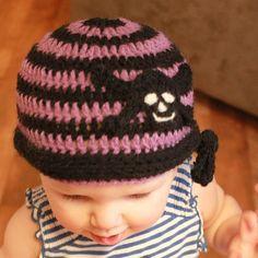 Chris's Skull Cap Crochet Pattern by Easymakesmehappy, via Flickr