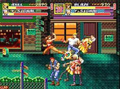 Streets of Rage. Sega Megadrive.
