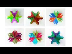 Christmas Origami Star 'Polo Sur' -Estrella Polo Sur para Navidad - YouTube