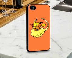 Goku Pikachu for iPhone and Samsung Case by mulailagi on Etsy