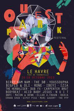 Ouest Park festival | Studioburo