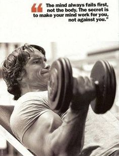 Bodybuilding Arnold Schwarzenegger - Here are some totally-inspiring, highly-motivational quotes to fuel your workout and help you achieve truly amazing results when working out in the gym. Fitness Studio Motivation, Fitness Studio Training, Gym Motivation Quotes, Fitness Quotes, Arnold Motivation, Best Gym Quotes, Diet Motivation, Lifting Motivation, Exercise Motivation