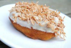 Pina Colada Doughnut - Shugary Sweets