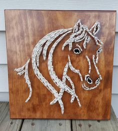 Hey, I found this really awesome Etsy listing at https://www.etsy.com/listing/538623654/horse-head-string-art