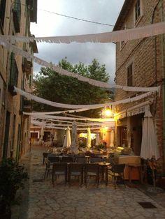 Cafe Ca'n Benet, Soller. www.sollersecrets.com