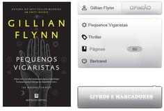 Livros e marcadores: Opinião: Pequenos Vigaristas de Gillian Flynn