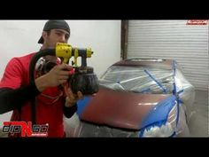 ▶ Plasti Dip How To Plasti Dip Roof Hood Trunk Stripes Walkthrough - YouTube Great Video on Painting Stripes on car with Plasti Dip. It shows car already prepped with plastic & tape first; then, man paints (with a Wagner Paint Sprayer) until the final coat. Man even shows how to best remove the blue painter's tape. I love the idea that you can custom do your own thing & it doesn't look too hard.