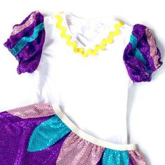 Youve trained hard, and now you can play hard and look your best for your big day! This fun athletic Mrs Potts inspired running costume is flattering and functional as its partnered with a high quality matching puffy sleeves running shirt and sparkle skirt. Each skirt has an elastic waist and sparkle fabric apron paired with sparkle skirt. They are very light weight and you wont even notice youre wearing one. These skirts do not include under shorts. Be sure to wear your favorite spandex…