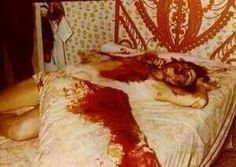 One of the actual pictures from the Amityville murders.