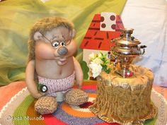 Куклы, Мастер-класс Вязание, Шитьё: Лапти (мастер-класс) + ежик Веня Материал бросовый, Нитки. Фото 1