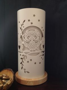 Pvc Pipe Crafts, Pvc Pipe Projects, Diy And Crafts, Pipe Lighting, Dramatic Lighting, Vestidos Vintage Retro, Laser Cut Lamps, Lampe Tube, Owls