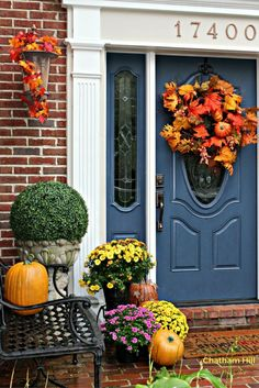 Festive Fall Home Tour Welcomes You at www.chathamhillonthelake.com
