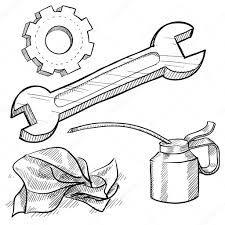 Resultado De Imagen Para Herramientas En Dibujos Mechanic Tools Drawings Car Mechanic