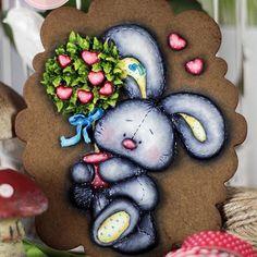 El árbol del amor. Galleta dimensional pintada a mano.  ❤️❤️❤️ My sweet art - Sandra Amaral