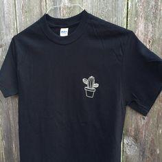 Cactus Screen Printed T Shirt